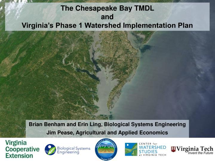 the chesapeake bay tmdl and virginia s phase 1 watershed implementation plan n.