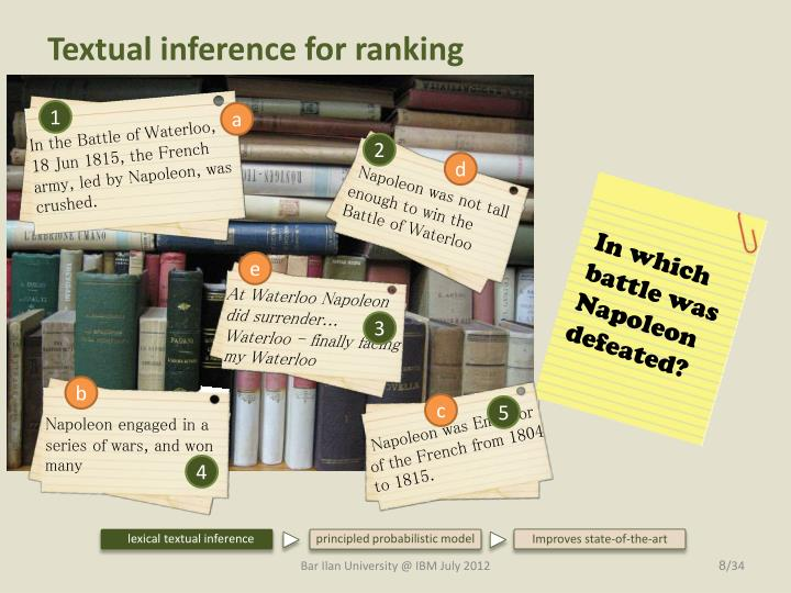 Textual inference