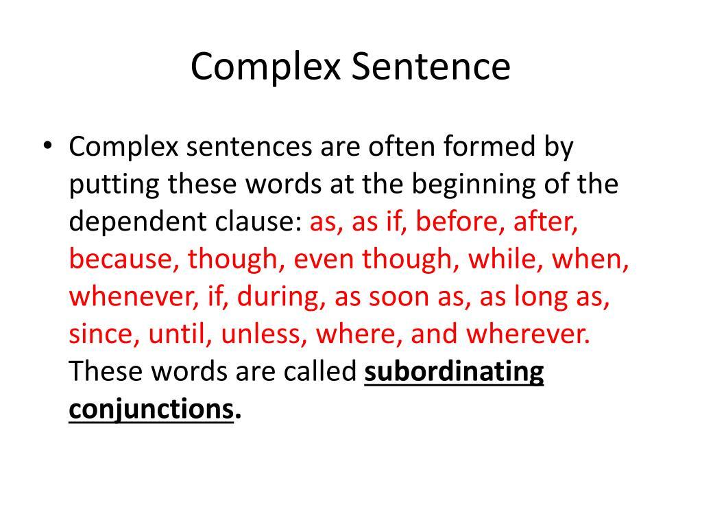 PPT - Compound Sentences PowerPoint Presentation, free ...