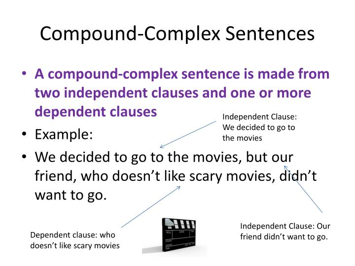 ppt compound sentences powerpoint presentation id 2454960