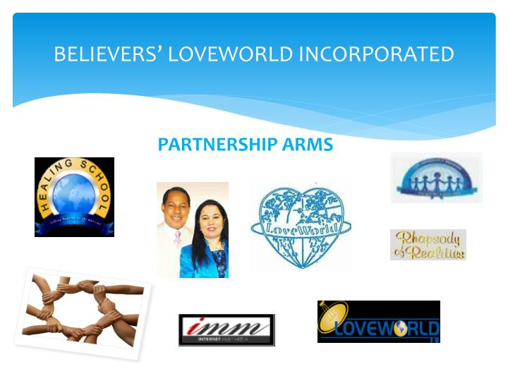 believers loveworld incorporated n.