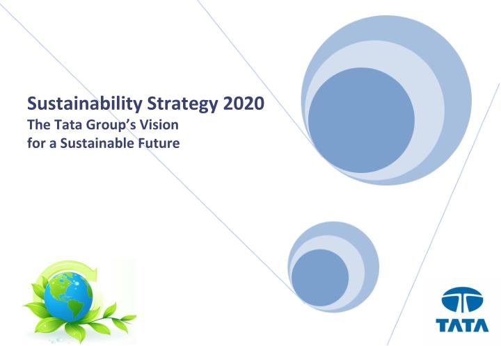 tata group sustainability strategy