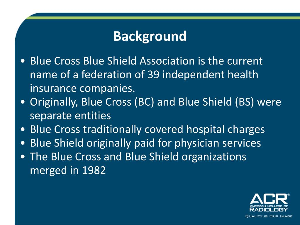 PPT - The Formation of Blue Cross and Blue Shield PowerPoint