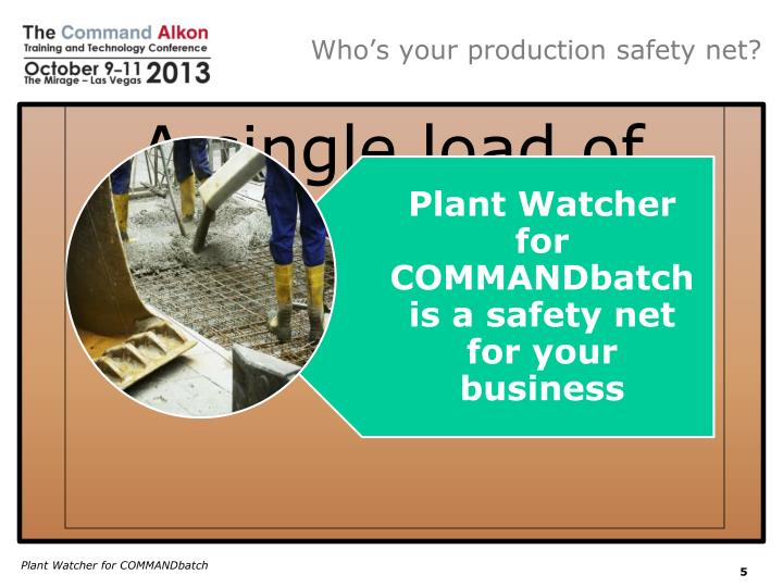 Who's your production safety net?