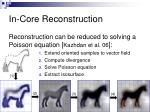 in core reconstruction4