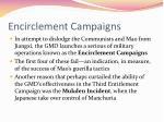 encirclement campaigns