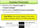 deadspy philosophy