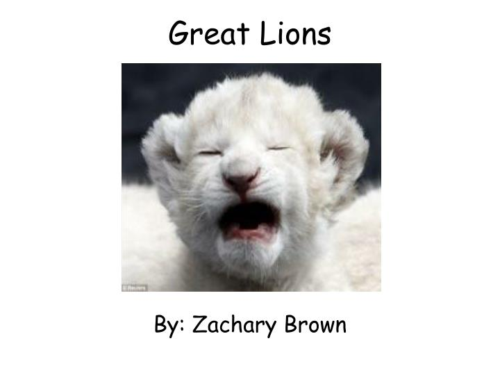 great lions n.