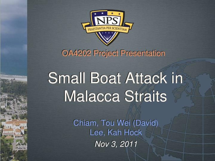 small boat attack in malacca straits n.