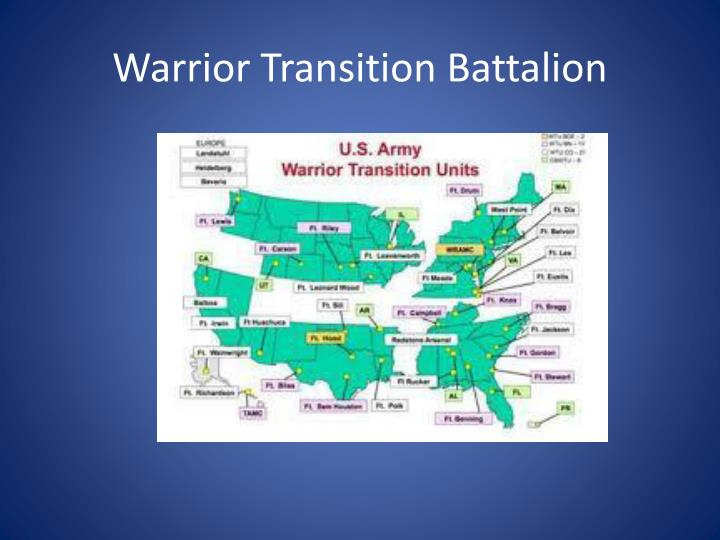 Warrior Transition Battalion
