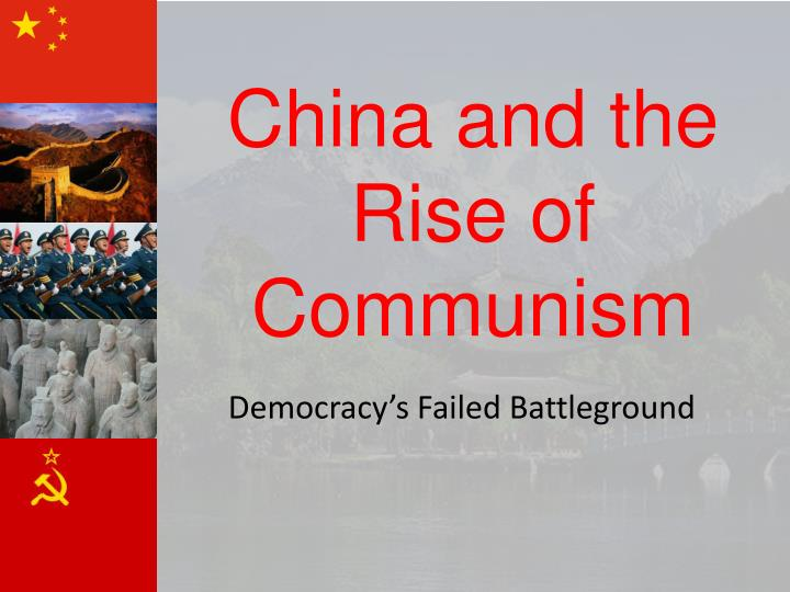 china and the rise of communism n.