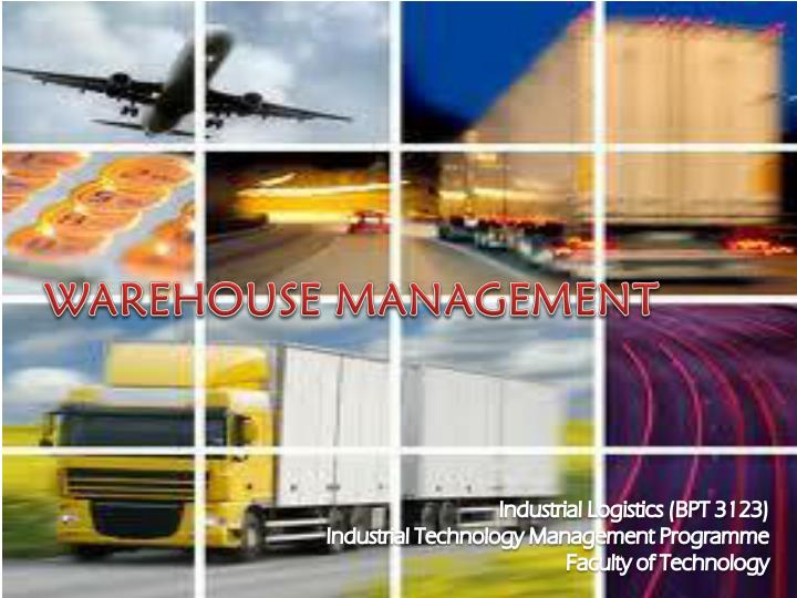 warehouse management n.
