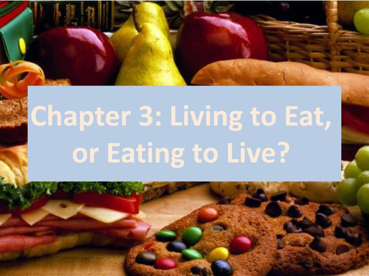 healthy eating healthy living essay Free essays from bartleby | healthy eating the benefits and roles on the body over time sitting and eating at the table with family has slowly drifted away.