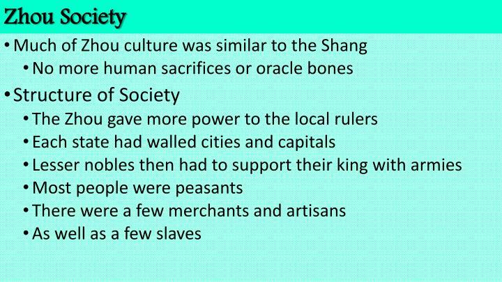 Zhou Society