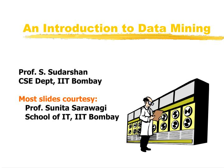 an introduction to data mining n.