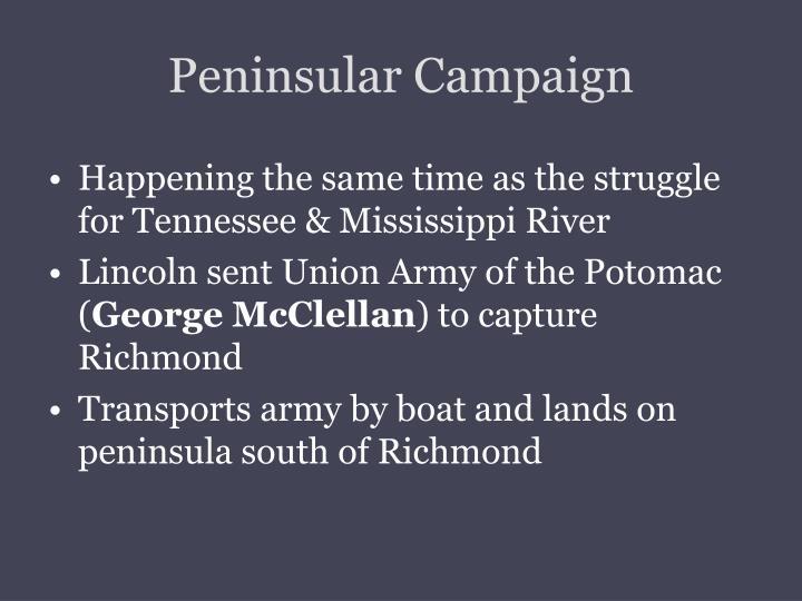 Peninsular Campaign
