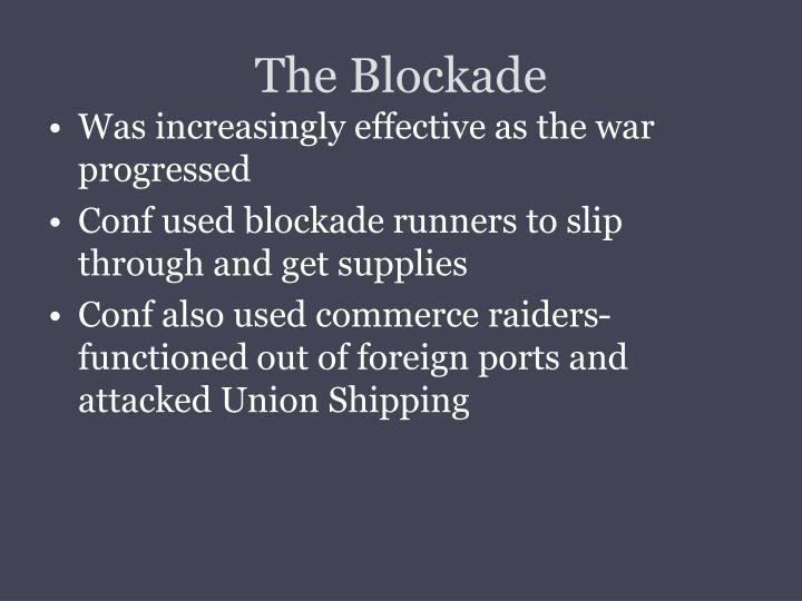 The Blockade