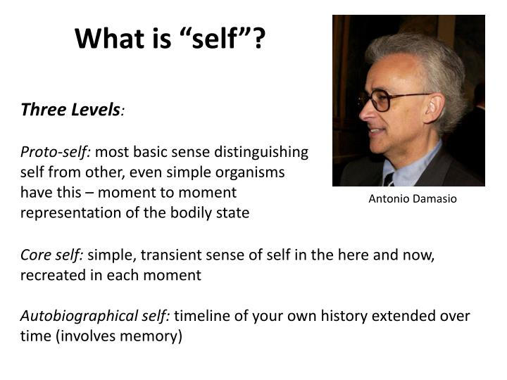 "What is ""self""?"