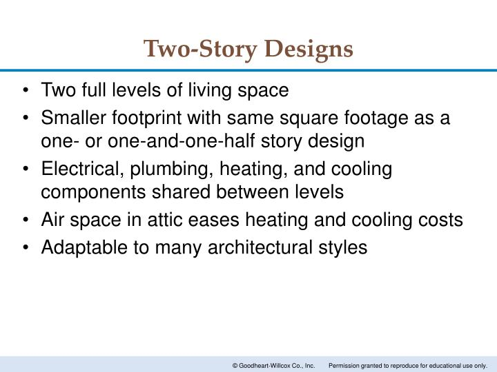Two-Story Designs