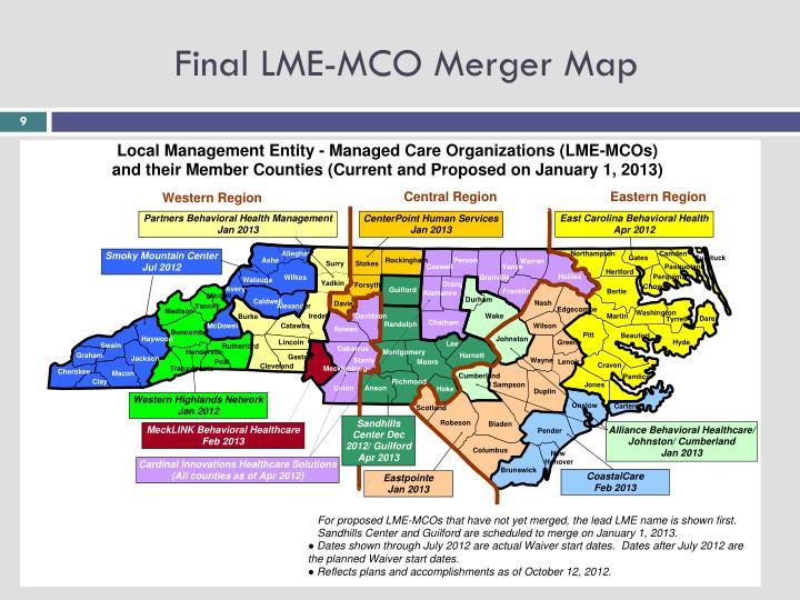 Final LME-MCO Merger Map