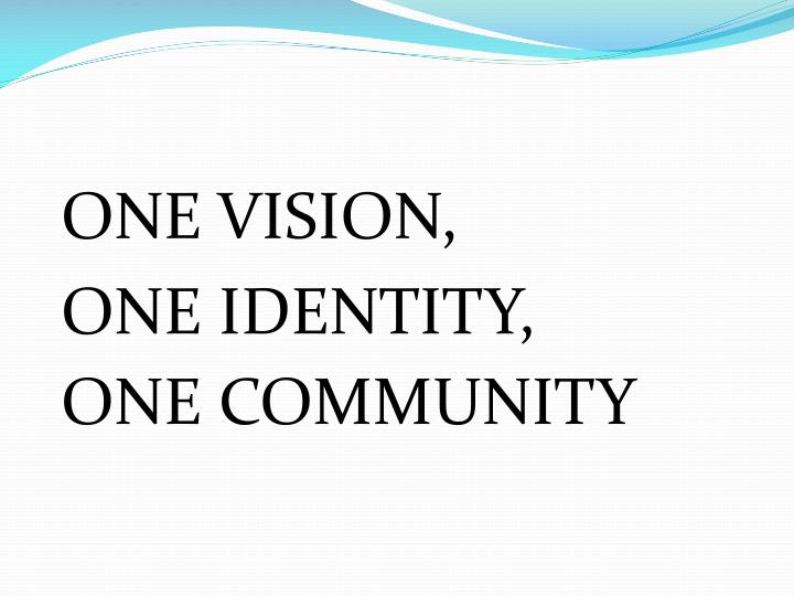 ONE VISION,
