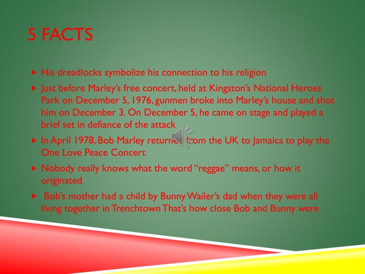 5 facts