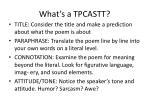 what s a tpcastt