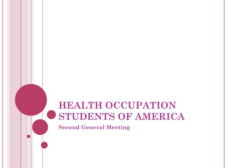 health occupation students of america n.