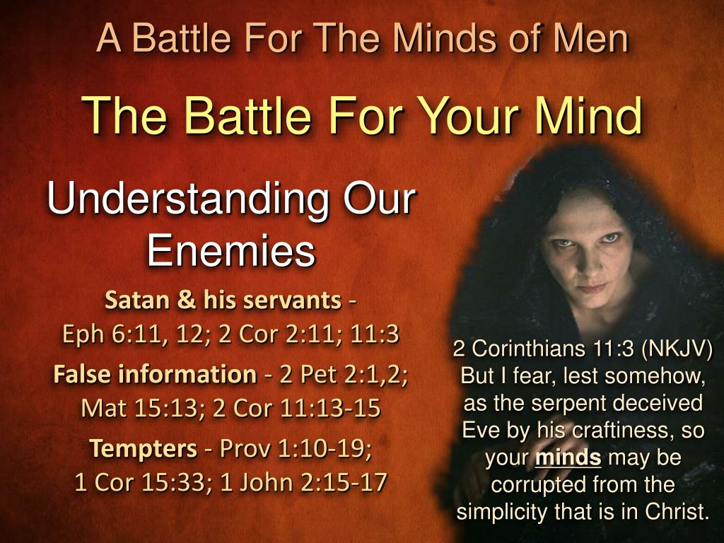 PPT - Your Mind Is A Battlefield PowerPoint Presentation