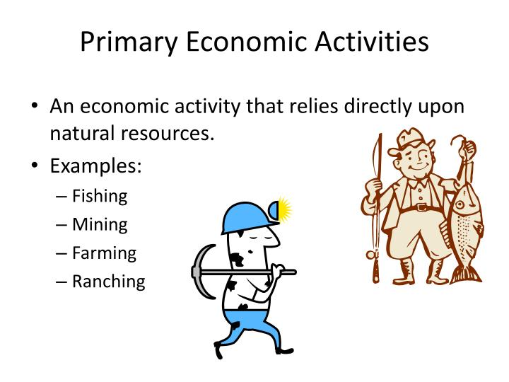 Ppt Primary Economic Activities Powerpoint Presentation Id2457739