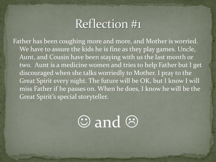 Reflection #1