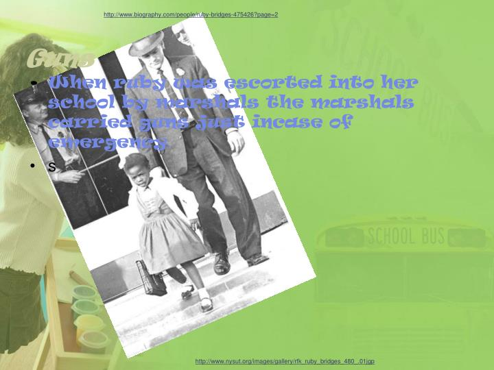 http://www.biography.com/people/ruby-bridges-475426?page=2