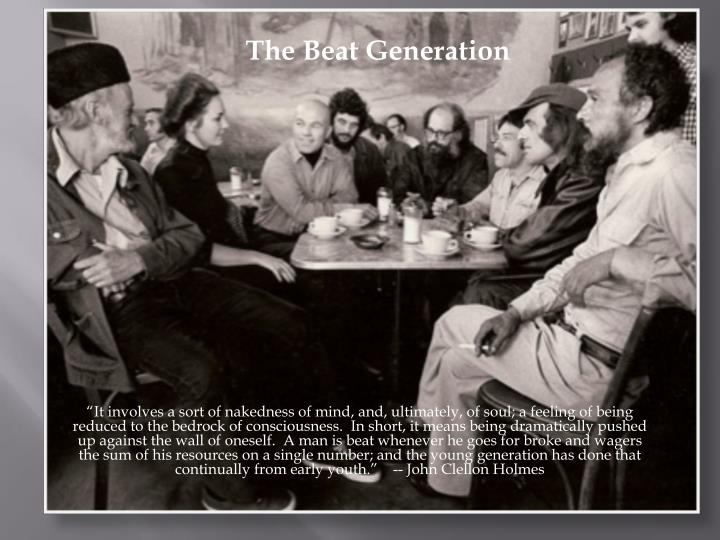 the beat generation 1940s 1950s n.