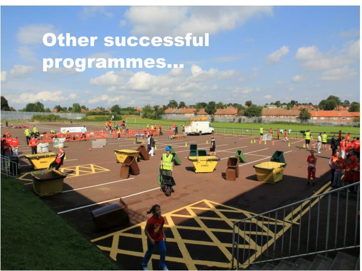 Other successful programmes…