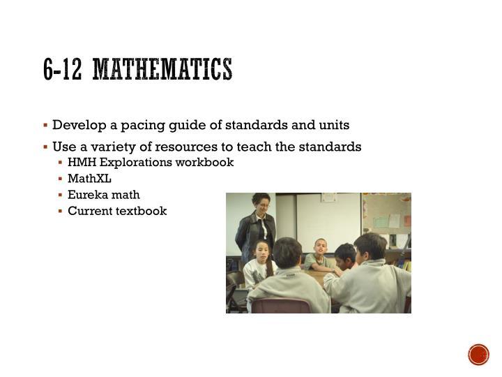 6-12 Mathematics