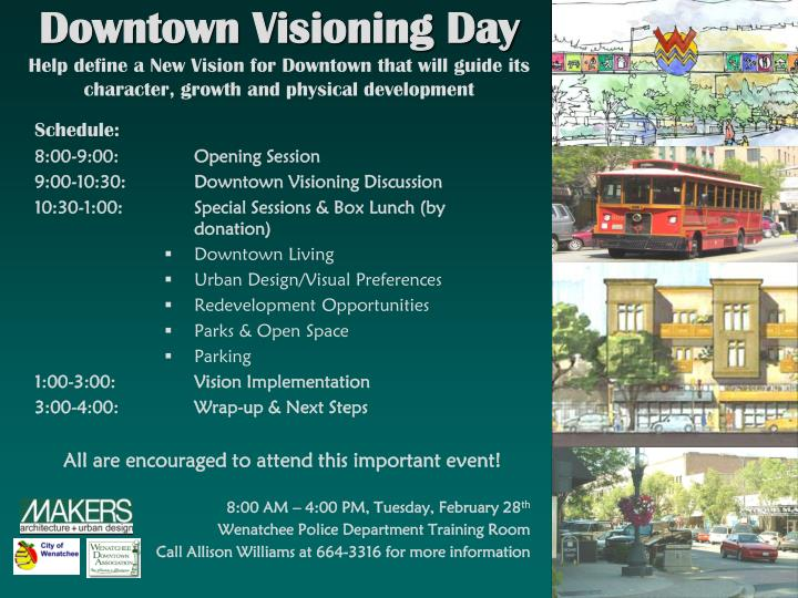 Downtown Visioning Day