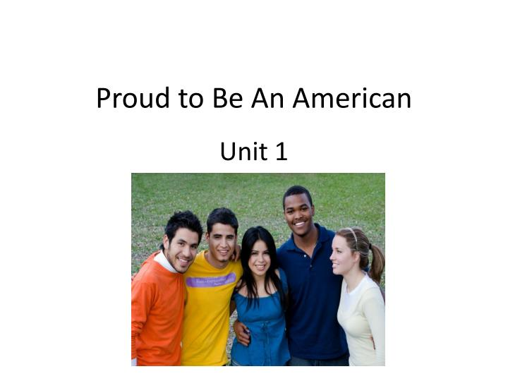 proud to be an american n.