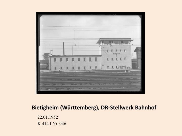 Bietigheim (Württemberg), DR-Stellwerk Bahnhof