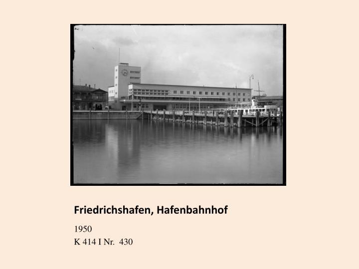 Friedrichshafen, Hafenbahnhof