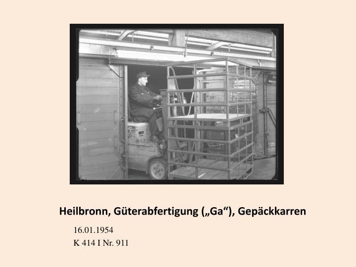 """Heilbronn, Güterabfertigung ("""""""