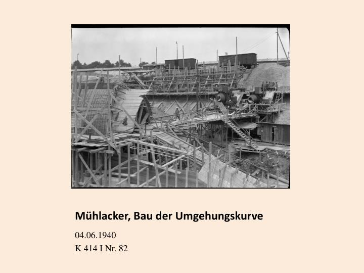 Mühlacker, Bau der Umgehungskurve