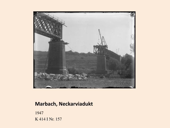 Marbach, Neckarviadukt
