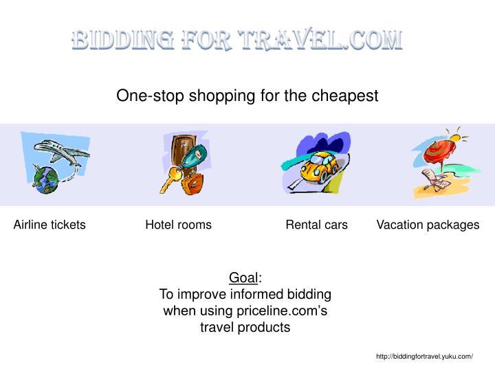Bidding for Travel.com