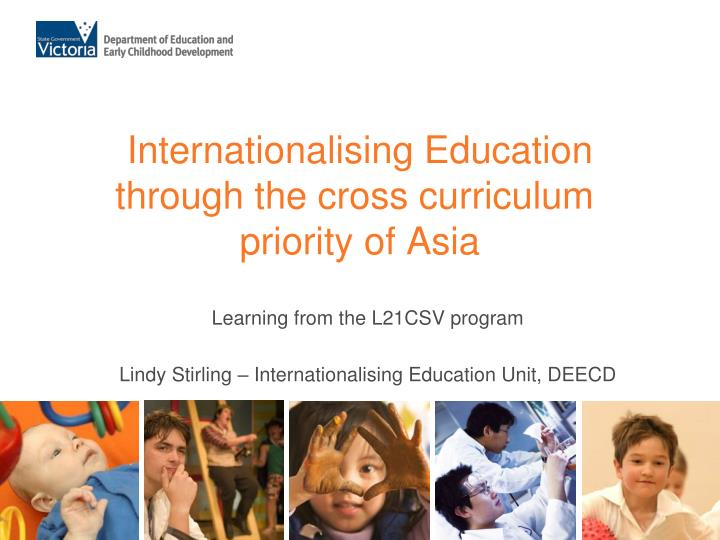 internationalising education through the cross curriculum priority of asia n.
