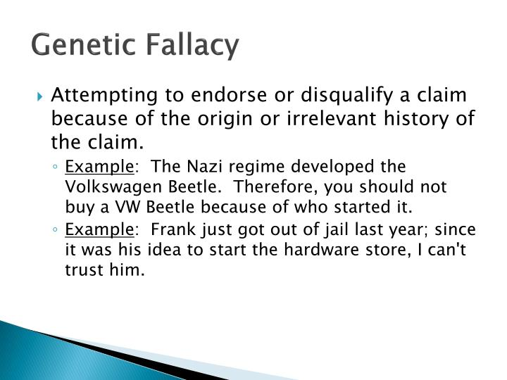 Ppt Logical Fallacies Or Fallacies In Argumentation Powerpoint