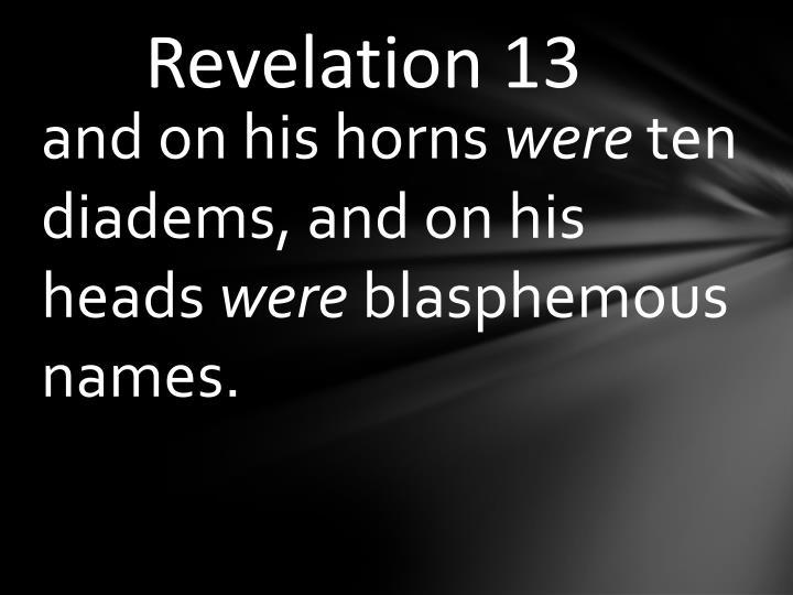Revelation 13