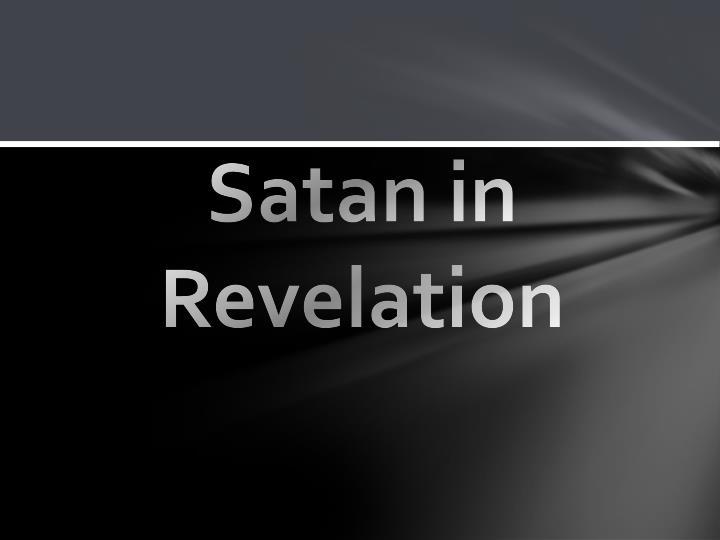 Satan in Revelation