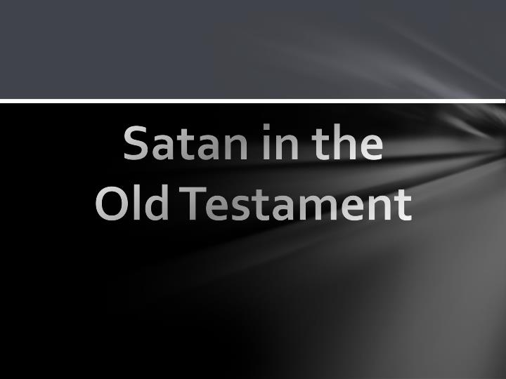 Satan in the