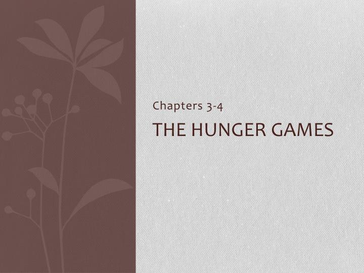 Chapters 3-4