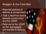 reagan the cold war